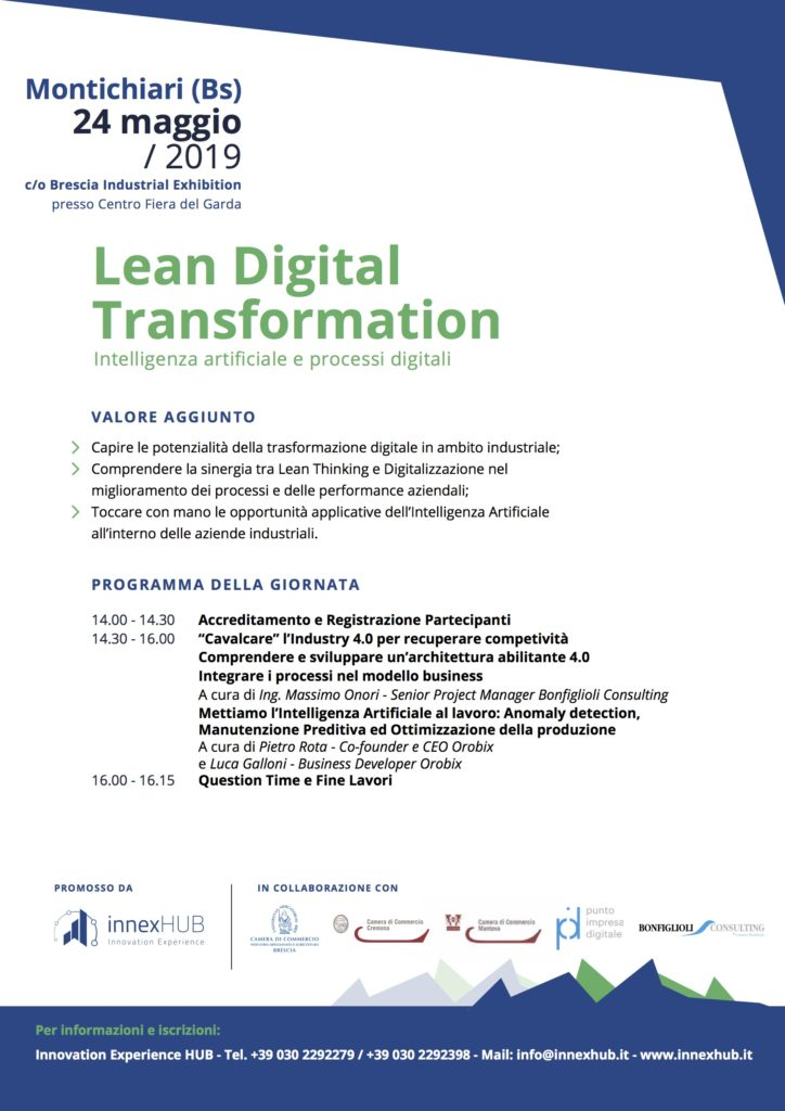 Evento Lean Digital Transformation